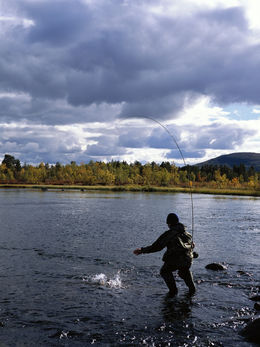 Fishing for children and families in Lapland